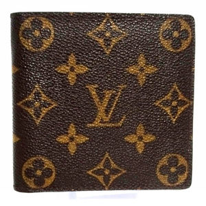 LOUIS VUITTON Porte Billets Coin Men Bifold Wallet